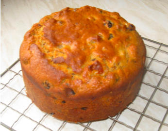 honey-fruitcake